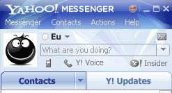 Yahoo Messenger 10 Fereastra Principala