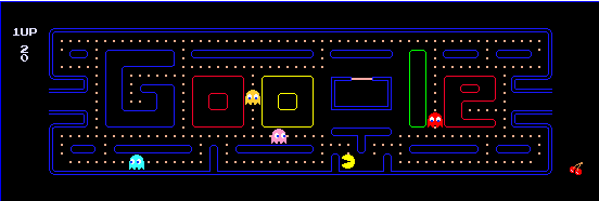 Google - PacMan logo