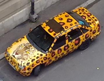 Masina leopard si nu tigru