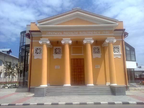 Ateneul Nicolae Balanescu, de vizitat in Giurgiu