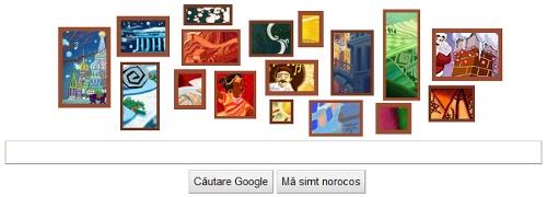 Google Logo 23 decembrei 2010