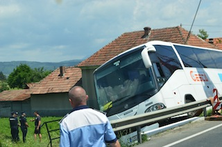 accident autocar deva