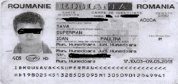 supermen de romania