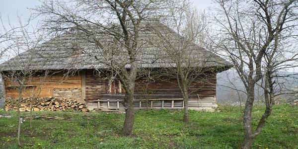 casa veche lemn maramures