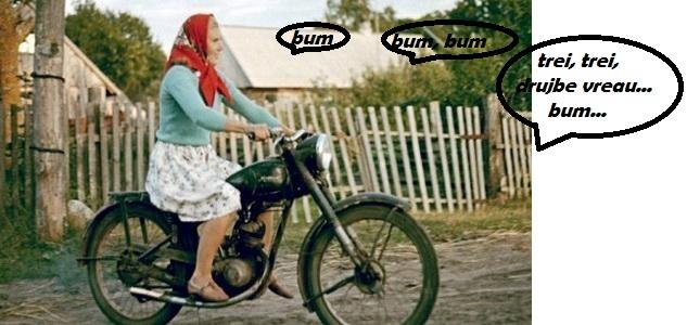 baba si motocicleta