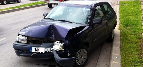 accident cu arab Timisoara