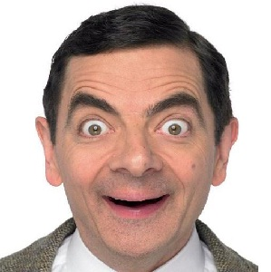 poze haioase Mr Bean