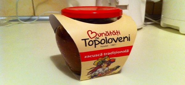zacusca de Topoloveni