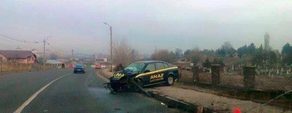 masina ANAF accident
