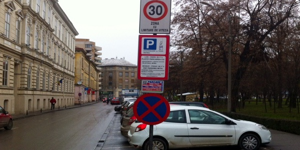 parcare cu taxa interzisa