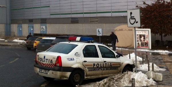 politia pe loc de handicap