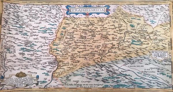 Harta veche transilvania